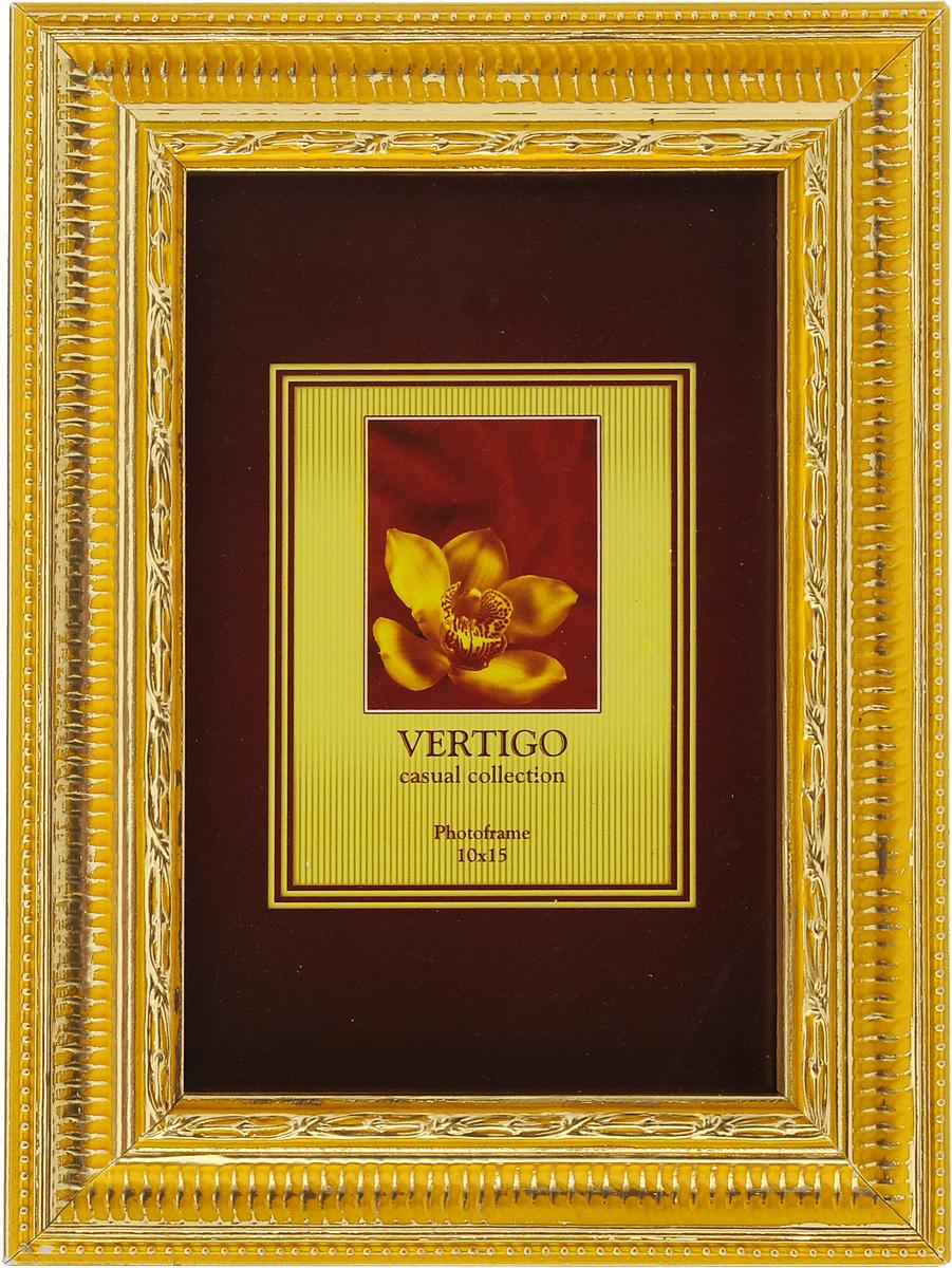 Фоторамка Vertigo Piemonte, 10 x 15 см. W6016W6016/882Фоторамка Vertigo Piemonte выполнена в классическом стиле из дерева и стекла, защищающего фотографию. Оборотная сторона рамки оснащена специальной ножкой, благодаря которой ее можно поставить на стол или любое другое место в доме или офисе. Также на изделии имеются два специальных отверстия для подвешивания. Такая фоторамка поможет вам оригинально и стильно дополнить интерьер помещения, а также позволит сохранить память о дорогих вам людях и интересных событиях вашей жизни.