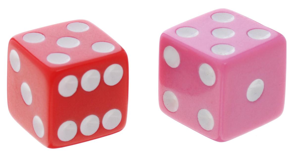 Koplow Games Набор игральных костей Простые D6 цвет красный розовый белый 2 шт2000_ красный, розовыйНабор игральных костей Koplow Games Простые D6 предназначен для настольных игр. Набор состоит из двух шестигранных костей. На каждую грань игральной кости нанесены числа от 1 до 6. С помощью игральной кости происходит определение случайного числа, выпадение каждого из которых является равновозможным благодаря правильной геометрической форме. Игральные кости выполнены из прочного пластика.
