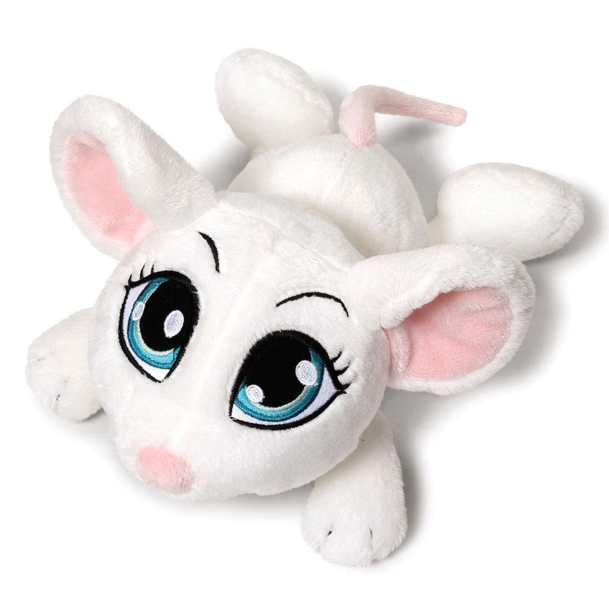 Nici Мягкая игрушка Мышка цвет белый 35 см37771Очаровательная мягкая игрушка Nici Мышка выполнена в виде симпатичного плюшевого мышонка. Игрушка изготовлена из высококачественного текстильного материала белого цвета. Игрушка невероятно мягкая и приятная на ощупь, вам не захочется выпускать ее из рук. У мышки огромные вышитые глазки, розовые ушки и длинный хвостик. Удивительно мягкая игрушка принесет радость и подарит своему обладателю мгновения нежных объятий и приятных воспоминаний. Специальные гранулы, использующиеся при ее набивке, способствуют развитию мелкой моторики у малыша. Великолепное качество исполнения делают эту игрушку чудесным подарком к любому празднику. Трогательная и симпатичная, она непременно вызовет улыбку у детей и взрослых.