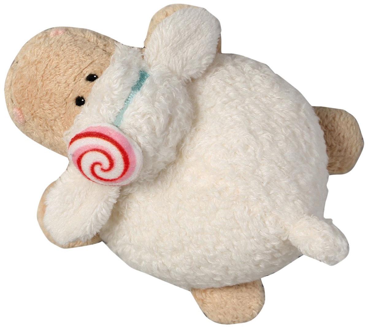 Nici Мягкая игрушка Овечка Кэнди 10 см37801Очаровательная мягкая игрушка Nici Овечка Кэнди выполнена в виде симпатичной плюшевой овечки. Игрушка изготовлена из высококачественного текстильного материала бежевого цвета. Игрушка невероятно мягкая и приятная на ощупь, вам не захочется выпускать ее из рук. Глазки у овечки пластиковые, а ротик и носик вышиты нитками. На голове у Кэнди текстильный пришитый ободочек. Удивительно мягкая игрушка принесет радость и подарит своему обладателю мгновения нежных объятий и приятных воспоминаний. Специальные гранулы, использующиеся при ее набивке, способствуют развитию мелкой моторики у малыша. Великолепное качество исполнения делают эту игрушку чудесным подарком к любому празднику. Трогательная и симпатичная, она непременно вызовет улыбку у детей и взрослых.