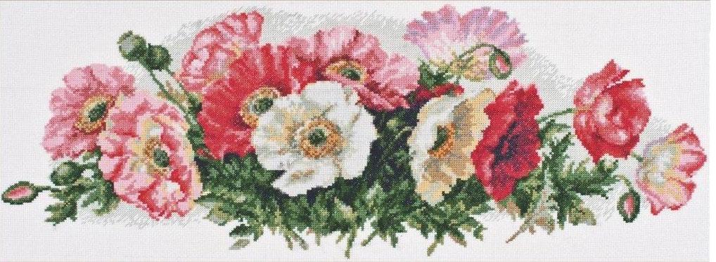 Набор для вышивания крестом Палитра Для тебя, любимая, 51 x 20 см549733Набор для вышивания Палитра Для тебя, любимая поможет создать красивую вышитую картину. Рисунок-вышивка, выполненный на канве, выглядит стильно и модно. Вышивание отвлечет вас от повседневных забот и превратится в увлекательное занятие! Работа, сделанная своими руками, не только украсит интерьер дома, придав ему уют и оригинальность, но и будет отличным подарком для друзей и близких! Набор для вышивания содержит все необходимые материалы для вышивки на канве в технике счетный крест. В состав набора входит: - канва Aida Bestex №16 белого цвета, - нитки мулине ПНК им. Кирова - 25 цветов, - игла Pony, - цветная символьная схема, - подробная инструкция на русском языке. Размер канвы: 61 х 30 см. УВАЖАЕМЫЕ КЛИЕНТЫ! Обращаем ваше внимание, на тот факт, что рамка в комплект не входит, а служит для визуального восприятия товара.