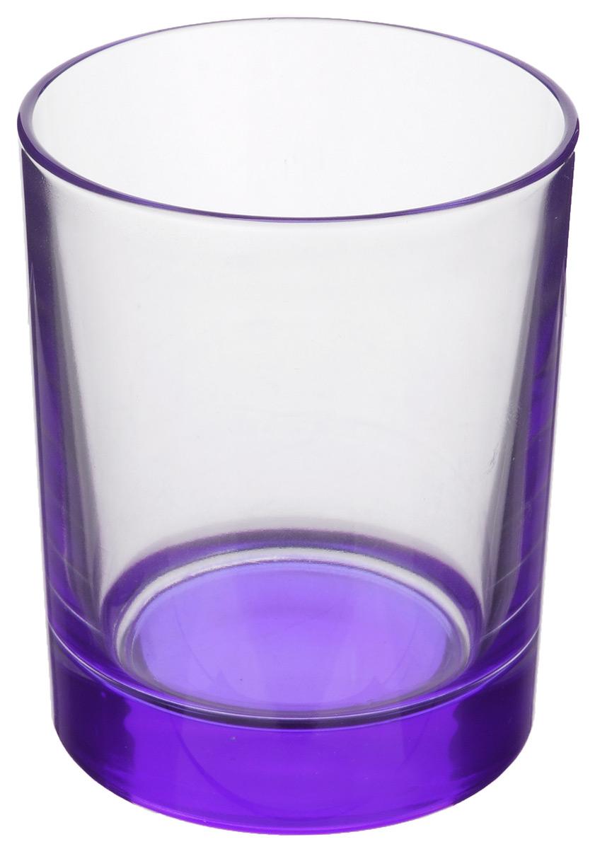 Стакан OSZ, цвет: сиреневый, прозрачный, 250 мл02С1021_сиреневыйНизкий стакан OSZ изготовлен из высококачественного стекла, которое изысканно блестит и переливается на свету. Дно стакана окрашено. Стакан прозрачный, но при его наклоне создается оптическая иллюзия того, что и сам стакан окрашен. Такой стакан отлично дополнит вашу коллекцию кухонной утвари и порадует вас ярким необычным дизайном и практичностью. Диаметр стакана: 7 см. Высота стакана: 9 см.