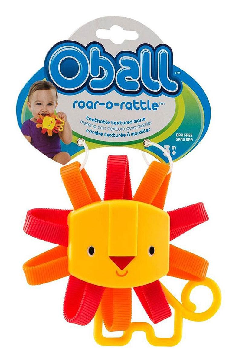 Oball Развиващая погремушка Львенок81522Развивающая погремушка Oball Львенок выполнена в ярком красочном дизайне и полностью безопасна для ребенка, так как не имеет острых углов и мелких деталей. Погремушка выполнена в виде симпатичного львенка с большой головой в обрамлении пластиковой рельефной гривы. В голове скрыты гремящие элементы, которые издают забавные звуки, когда малыш трясет игрушку. Погремушку удобно держать маленькими ручками. Погремушка Oball развивает цветовое и слуховое восприятие, ловкость и координацию движений. Не содержит бисфенол А.