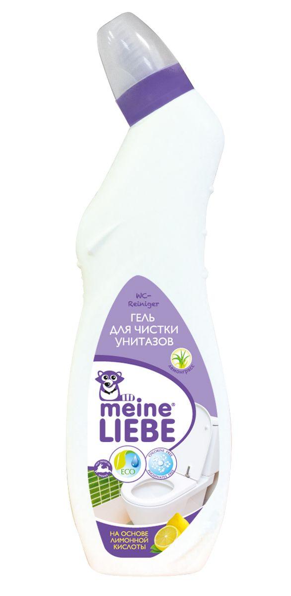 Гель для чистки унитазов Meine Liebe, лимон, 750 млml33102Гель для чистки унитазов Meine Liebe на основе лимонной кислоты: - эффективно удаляет загрязнения и обеспечивает сияющую чистоту; - борется с неприятными запахами, оставляя свежий аромат лемонграсса; - не содержит хлор и абразивы, благодаря чему, не повреждает поверхность; - удаляет известковый налет, ржавчину и мочевой камень; - препятствует размножению бактерий. Рекомендуется использовать перчатки и тщательно мыть руки после работы. Состав: деминерализованная вода, <5% неионогенные ПАВ, минеральные кислоты, лимонная кислота, ароматизатор, цитроннеллол, линалоол, лимонен, краситель.