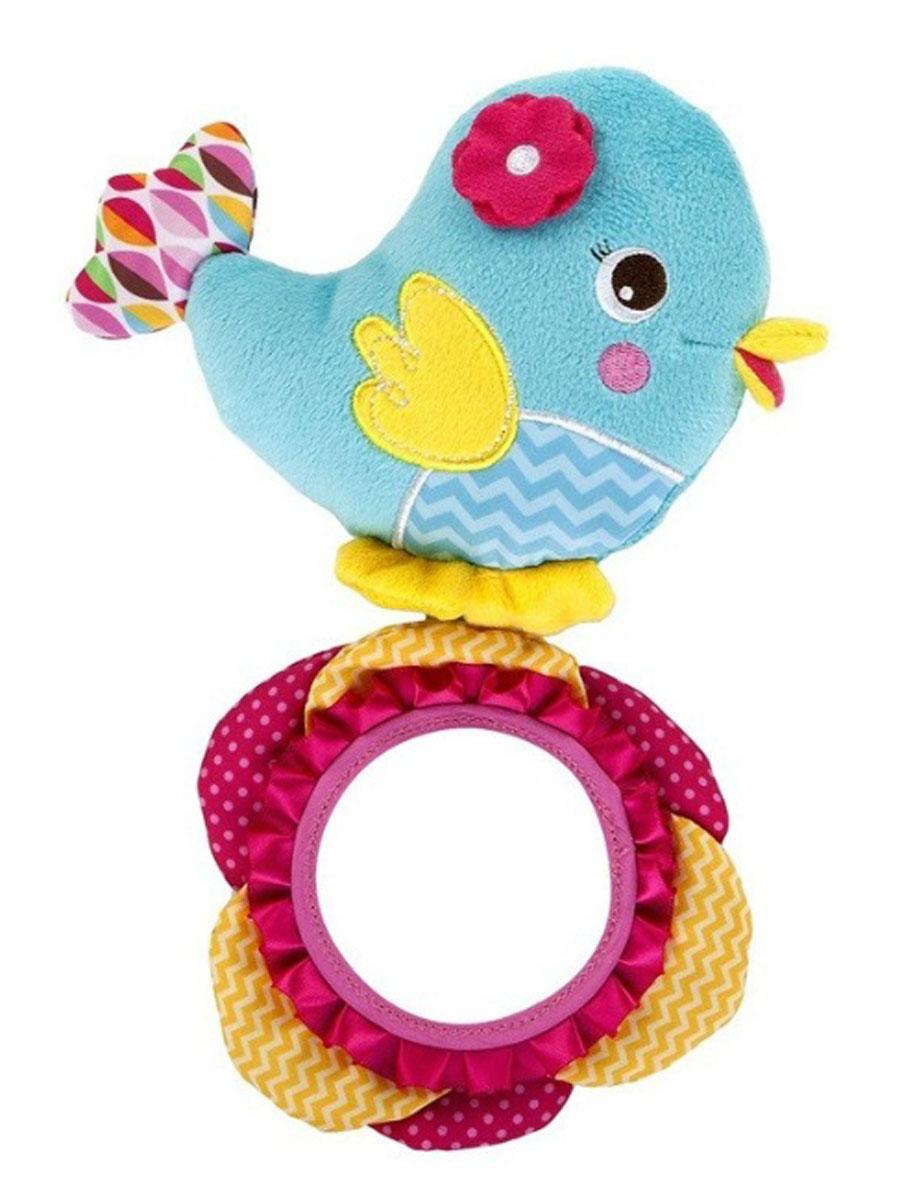 Bright Starts Развивающая игрушка Птичка52030Развивающая игрушка Bright Starts Птичка с зеркальцем непременно понравится вашему малышу. Различные текстуры, приятные на ощупь, развивают тактильные навыки, контрастные яркие цвета позволяют развивать у ребенка концентрацию внимания.