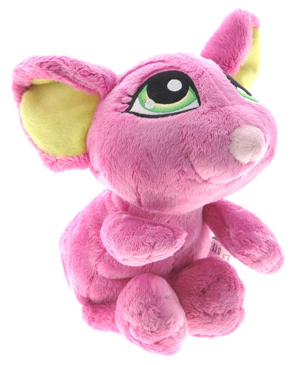 Nici Мягкая игрушка Мышка цвет розовый 25 см37767Мягкая игрушка Nici Мышка сможет удивить и обрадовать любого, кто ее увидит. Игрушка изготовлена из высококачественного и гипоаллергенного материала. Глазки мышки вышиты с невероятной точностью и наделяют мягкую игрушку своим неповторимым характером. Специальные гранулы, используемые при ее набивке, способствуют развитию мелкой моторики рук малыша. Симпатичная игрушка, которая неизменно будет радовать вашего ребенка, а также способствовать полноценному и гармоничному развитию его личности. Получить в подарок такого мышонка будет рад не только ребенок, но и взрослый.