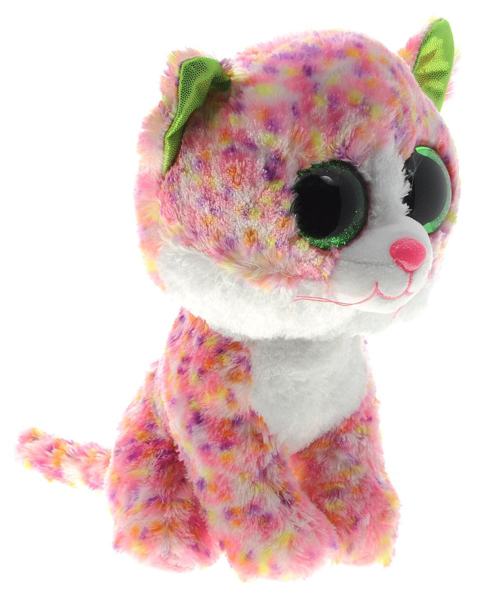 TY Мягкая игрушка Котенок Sophie 21 см37054Мягкая игрушка TY Котенок Sophie - это замечательный подарок для вашего малыша. Игрушка отличается оригинальным дизайном и качественным исполнением. Выполнена из безопасных материалов в виде очаровательного яркого котенка. Носик и глазки игрушки выполнены из пластика. Специальные гранулы, используемые при ее набивке, способствуют развитию мелкой моторики рук малыша. Котенок станет верным другом для каждого ребенка, подарит множество приятных мгновений и непременно поднимет настроение. Эта милая и забавная игрушка обязательно понравится вашему ребенку.