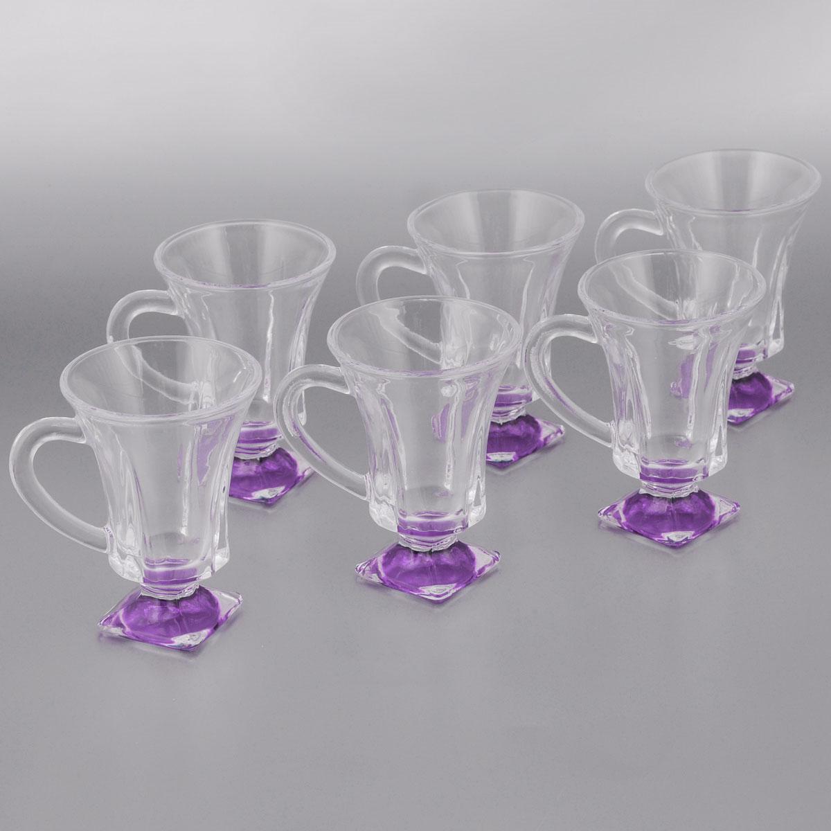 20220 Набор стаканов для глинтвейна 6 предметов Mayer & Boch сиреневый20220Набор стаканов 6 предметов материал: стекло объем 150 мл размер упаковки:30,5х27х9см