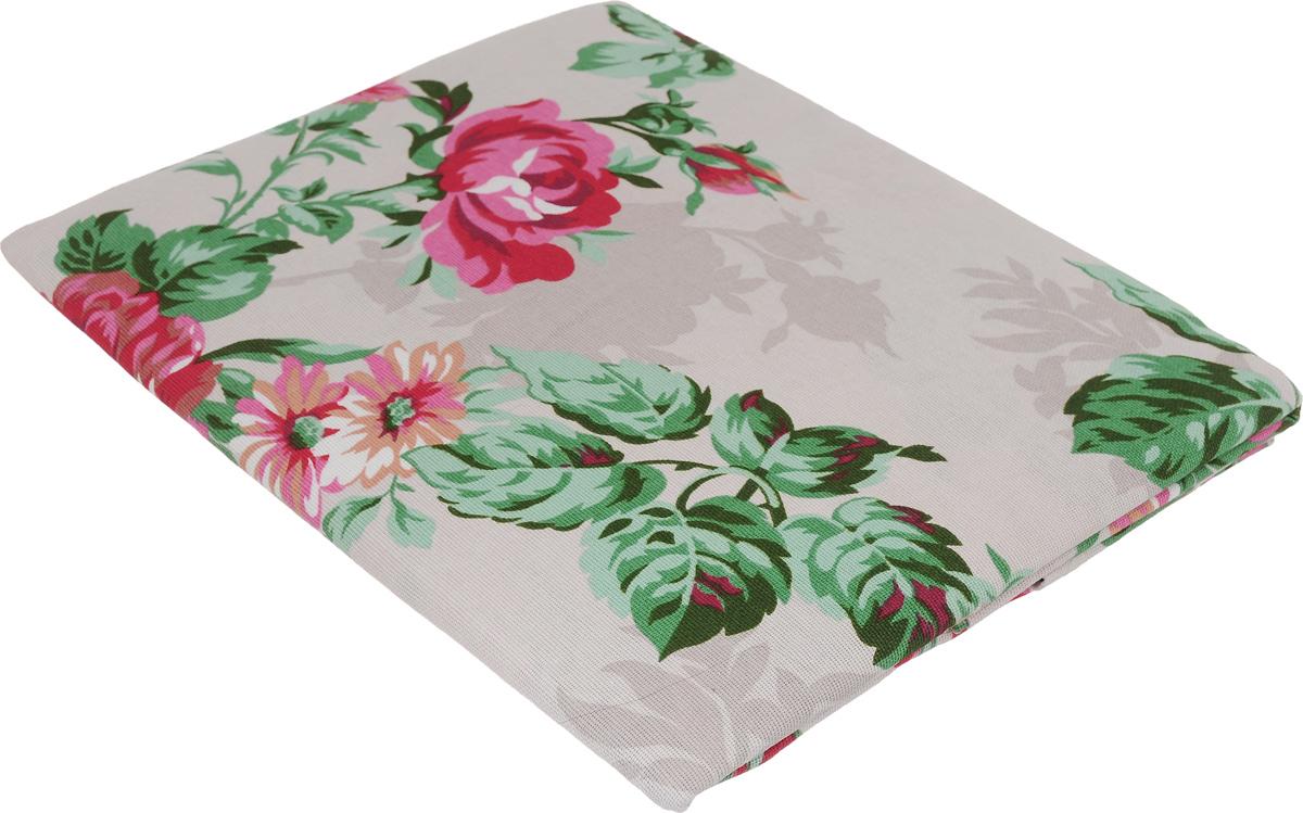 Скатерть Letto Роза, прямоугольная, цвет: серый, розовый, 145 x 180 смKSR15-180_серый/розаСкатерть Letto Роза изготовлена из хлопка и украшена рисунком цветов. Скатерти из натуральных тканей традиционно ценятся за свои уникальные качества, среди которых - гипоаллергенность, воздухопроницаемость, гигроскопичность и высокая прочность. Скатерть Letto Роза премиум-класса - это элитный текстиль, который придаст вашему столу особый изыск и поможет наполнить дом элегантным комфортом. Такая скатерть особым способом подчеркнет неповторимый стиль вашей столовой.