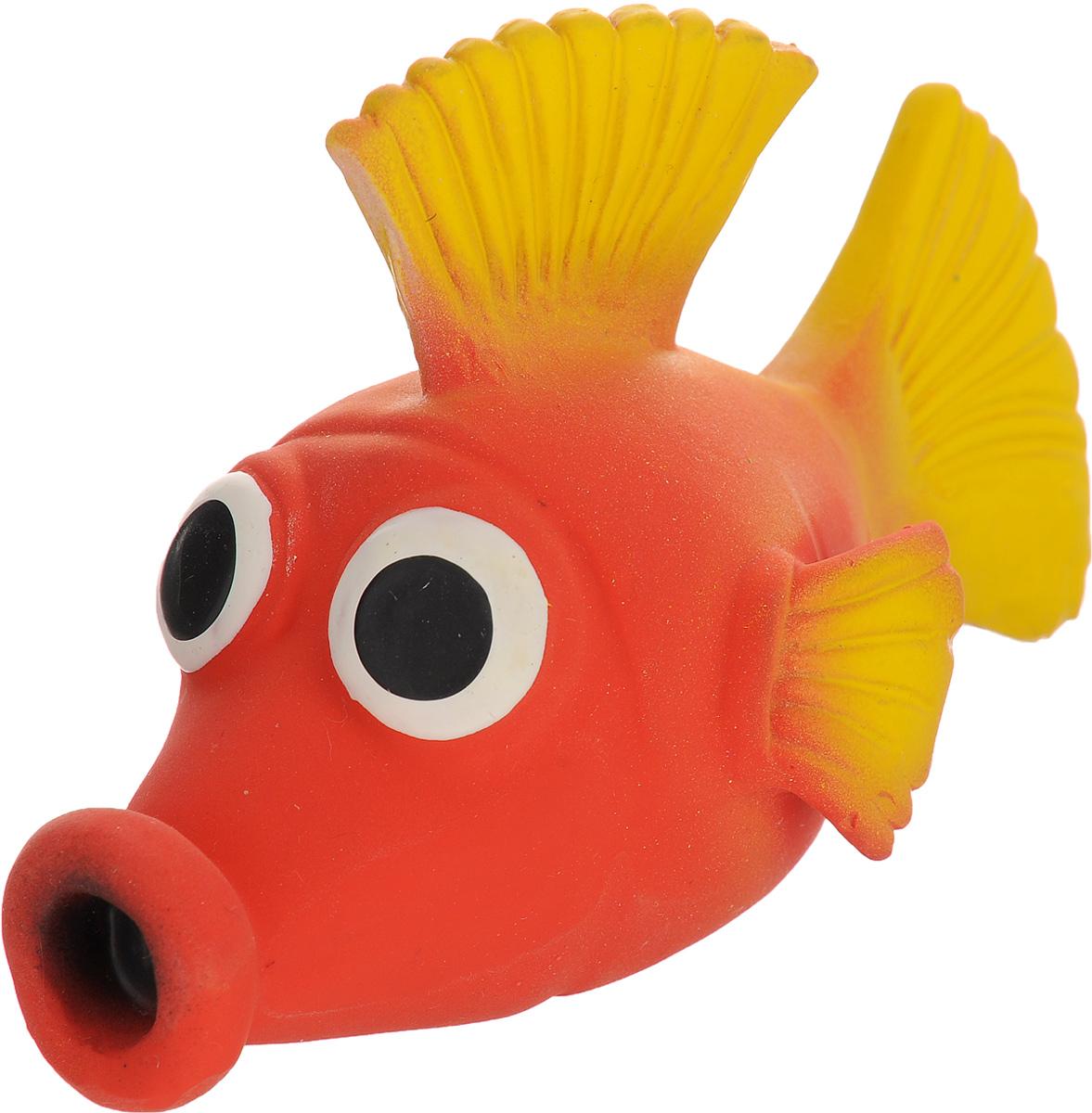 Игрушка для собак Beeztees I.P.T.S. Рыбка, цвет: красный, желтый16263/620875_красный, желтыйИгрушка для собак Beeztees I.P.T.S. изготовлена из безопасного латекса в форме забавной рыбки с большими глазами. Игрушка снабжена пищалкой. Предназначена для игр с собаками разных возрастов. Такая игрушка привлечет внимание вашего любимца и не оставит его равнодушным.
