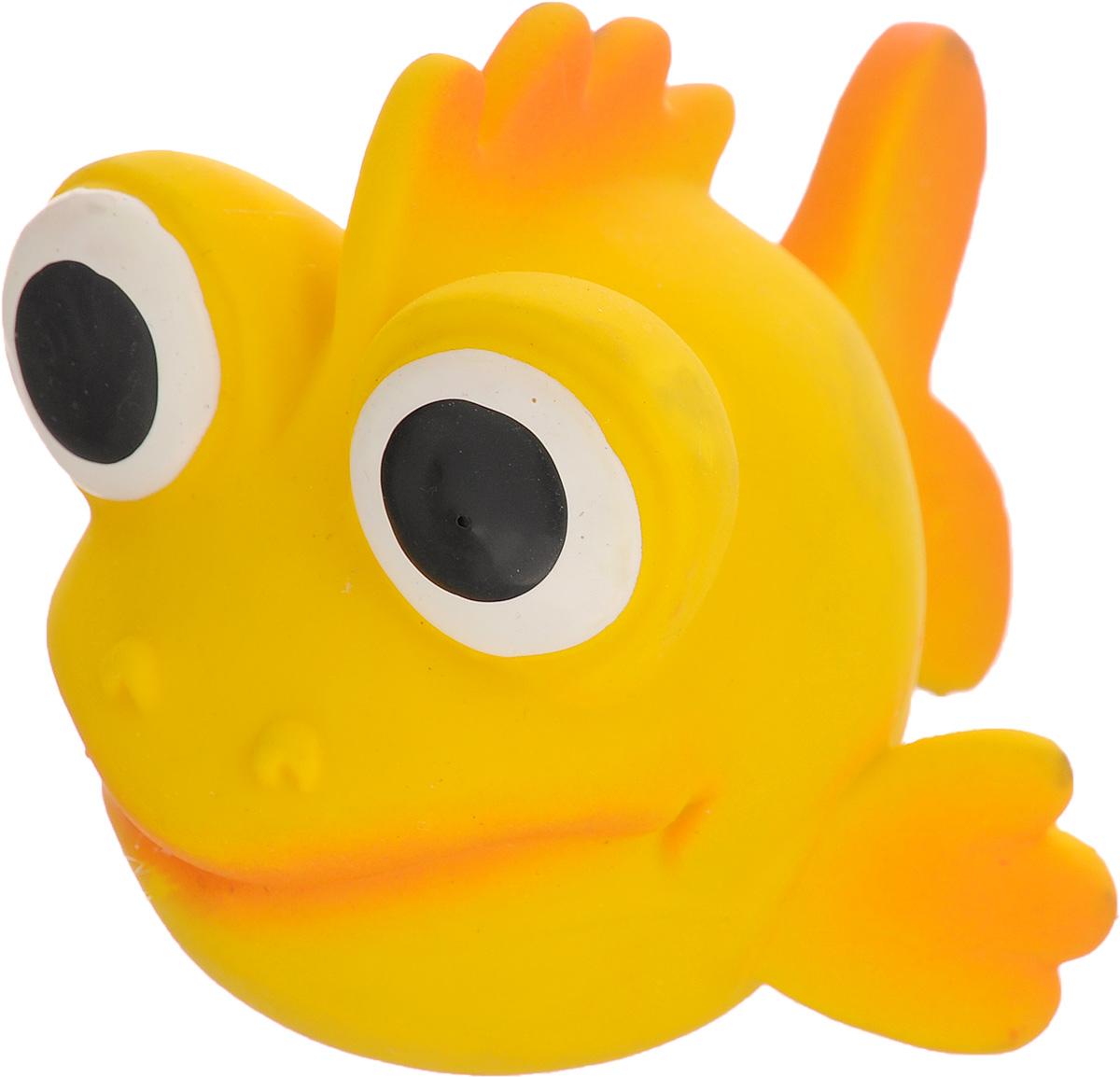 Игрушка для собак Beeztees I.P.T.S. Рыбка, цвет: желтый, оранжевый16263/620875_желтый, оранжевыйИгрушка для собак Beeztees I.P.T.S. изготовлена из безопасного латекса в форме забавной рыбки с большими глазами. Игрушка снабжена пищалкой. Предназначена для игр с собаками разных возрастов. Такая игрушка привлечет внимание вашего любимца и не оставит его равнодушным.