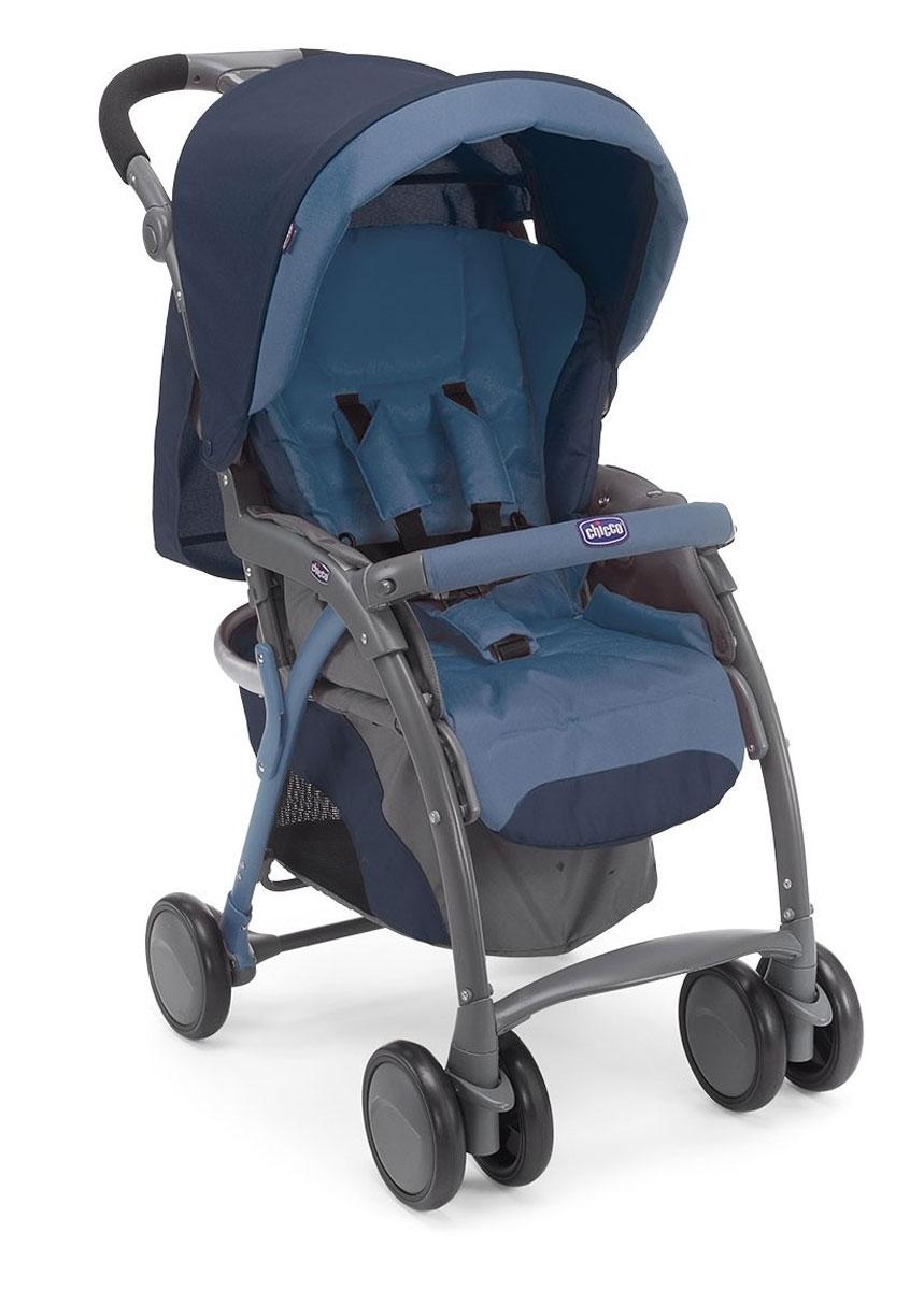 Chicco Коляска прогулочная Simplicity Plus Top цвет синий
