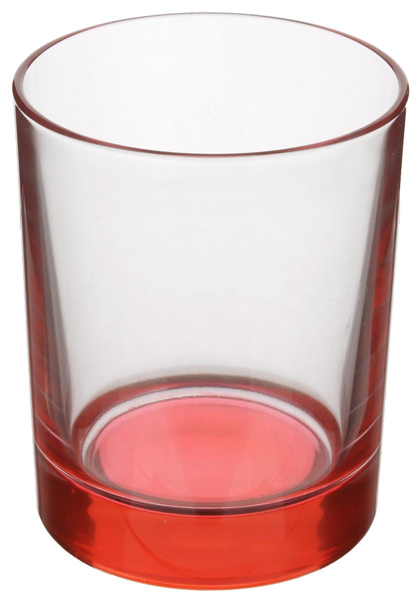 Стакан OSZ, цвет: красный, прозрачный, 250 мл02С1021_красныйНизкий стакан OSZ изготовлен из высококачественного стекла, которое изысканно блестит и переливается на свету. Дно стакана окрашено. Стакан прозрачный, но при его наклоне создается оптическая иллюзия того, что и сам стакан окрашен. Такой стакан отлично дополнит вашу коллекцию кухонной утвари и порадует вас ярким необычным дизайном и практичностью. Диаметр стакана: 7 см. Высота стакана: 9 см.