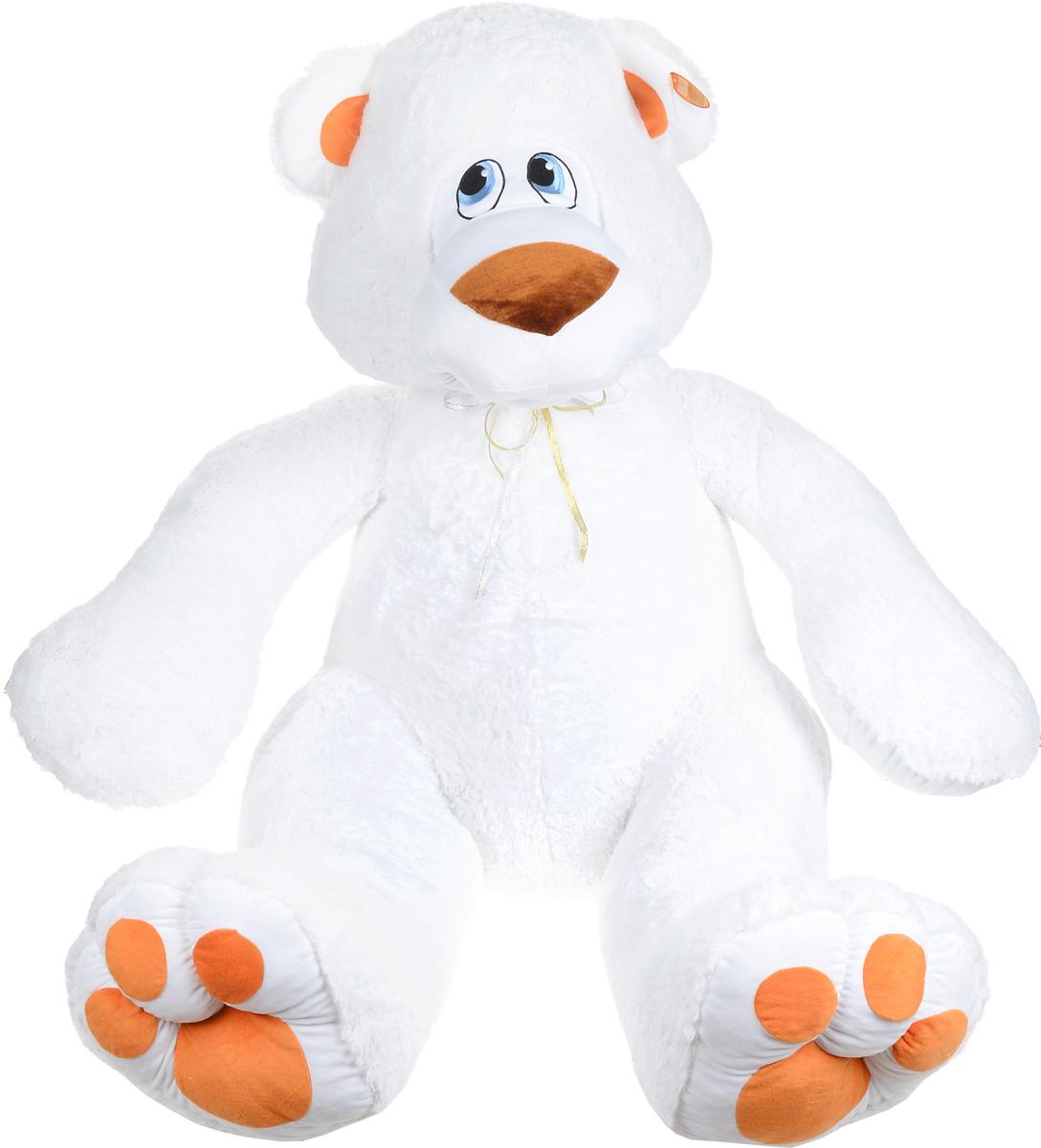 СмолТойс Мягкая игрушка Белая медведица 90 см3995В/БЕЛОчаровательная мягкая игрушка СмолТойс Белая медведица, выполненная из высококачественных и нетоксичных материалов в виде большого белого медвежонка с милыми голубыми глазами, вызовет умиление и улыбку у каждого, кто ее увидит. Удивительно мягкая игрушка принесет радость и подарит своему обладателю мгновения нежных объятий и приятных воспоминаний. Великолепное качество исполнения делают эту игрушку чудесным подарком к любому празднику.