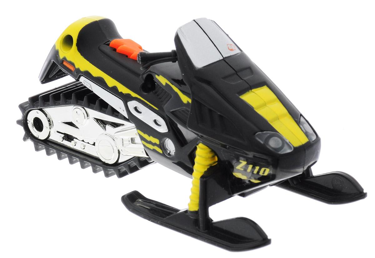 Toystate Снегоход Road Rippers Flash Rides33000TS_черныйМощный снегоход Toystate Road Rippers: Flash Rides со звуковыми и световыми эффектами непременно понравится вашему ребенку и не позволит ему скучать. Игрушка выполнена в виде спортивного снегохода. При нажатии на кнопку, расположенную на сиденье, светятся фары, воспроизводятся звуки двигателя, клаксона и играет музыка. Ваш ребенок часами будет играть с машинкой, придумывая различные истории и устраивая соревнования. Порадуйте его таким замечательным подарком! Для работы игрушки необходимы 2 батарейки типа AG13 (LR44) (товар комплектуется демонстрационными).