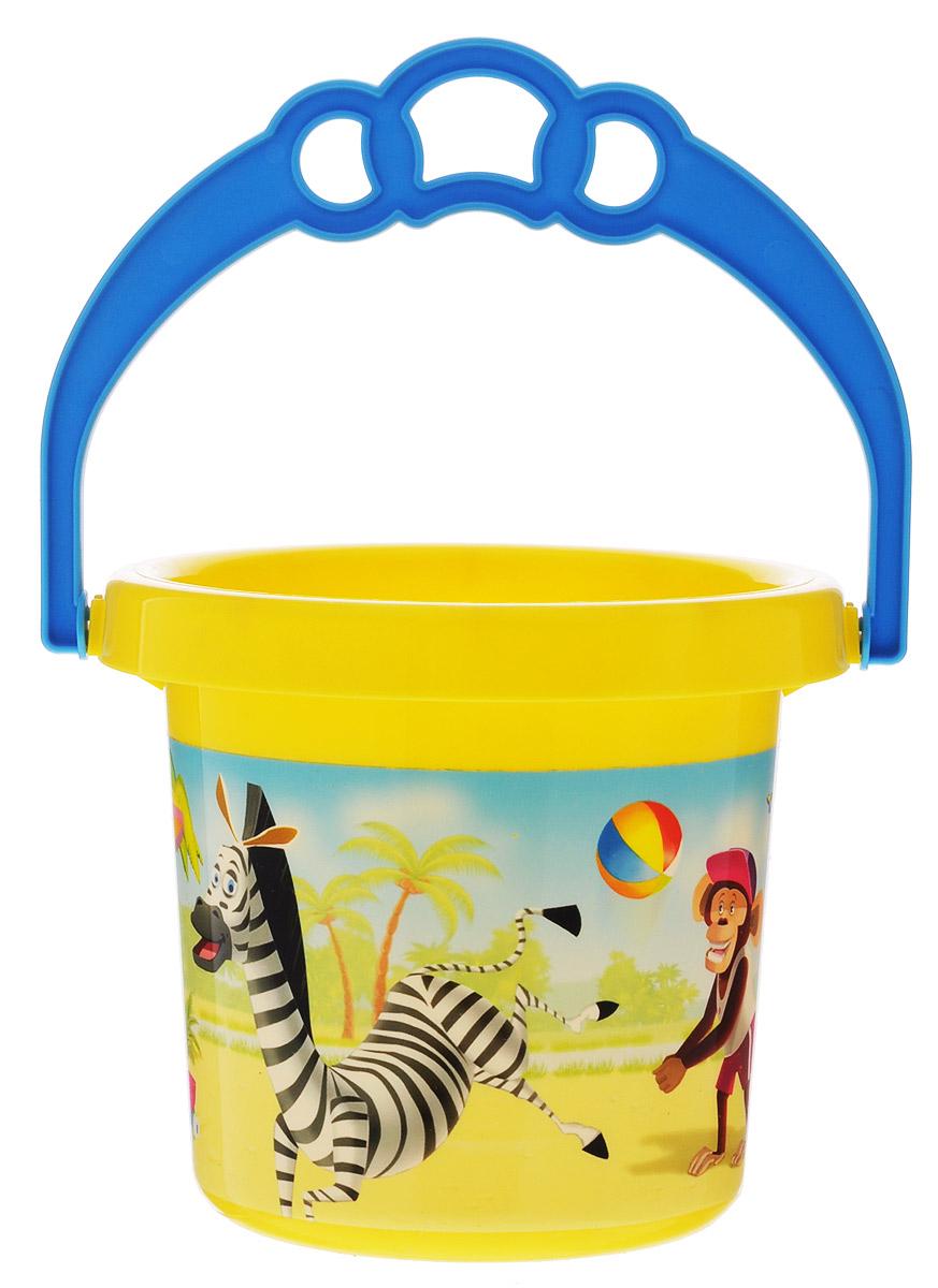 Stellar Ведро Палитра Пляж 0,8 л1284_пляж/желтыйДетское ведерко Stellar Палитра. Пляж привлечет внимание вашего ребенка и станет незаменимым аксессуаром его игр в песочнице. Ведро выполнено из безопасного пластика и декорировано ярким рисунком. С помощью ведерка ребенок сможет переносить песок и воду, лепить замки и многое другое. С таким ведерком игры на свежем воздухе принесут вашему малышу одно удовольствие! Объем ведра: 0,8 л.