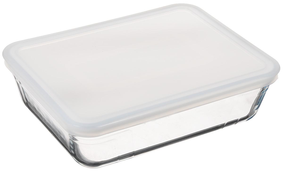 Форма для запекания Pyrex Cook & Store, прямоугольная, с крышкой, 22 х 17 см242P000Прямоугольная форма для запекания Pyrex Cook & Store изготовлена из жаропрочного стекла, которое выдерживает температуру до +300°С. Форма предназначена для приготовления горячих блюд и оснащена крышкой. Материал изделия гигиеничен, прост в уходе и обладает высокой степенью прочности. Форма идеально подходит для использования в духовках, микроволновых печах, холодильниках и морозильных камерах. Размер формы (по верхнему краю): 22 х 17 см. Высота стенки: 6 см.