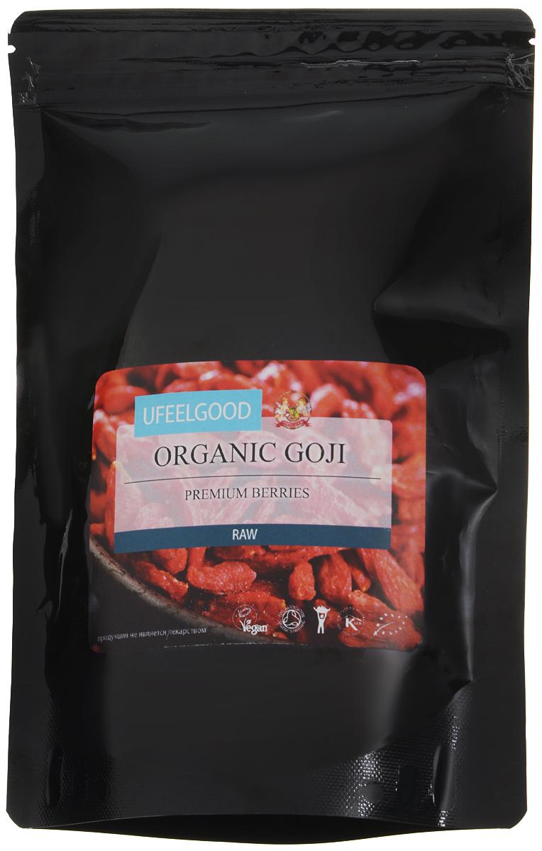 UFEELGOOD Organic Goji Premium Berry органические ягоды годжи, 200 г