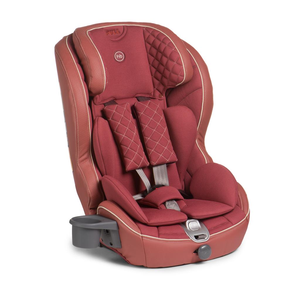 Happy Baby Автокресло Mustang Isofix Bordo