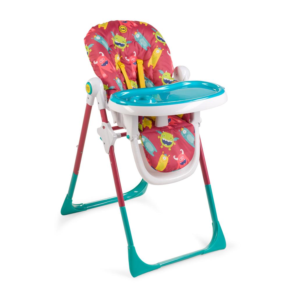 Happy Baby Стульчик для кормления Goodie Cherry4650069782650Стульчик для кормления GOODIE входит в яркую коллекцию MONSTER и создан для современных родителей, для которых важен не только прием пищи в комфортных условиях, но и позитивный дизайн. Удобная столешница регулируется в трех положениях и имеет съемный поднос. Стульчик GOODIE имеет шесть положений по высоте и подножку, которую можно регулировать в трех положениях. Максимальный вес ребенка – 18 кг, что позволяет использовать Стульчик уже довольно взрослым детям. Для удобства малыша модель оснащена: разделителем для ножек; съемным чехлом, который легко снимается и просто стирается; пятиточечными ремнями безопасности; имеет возможность стоять без опоры в сложенном виде. Дизайн Стульчика создан в ярких сочных цветах с веселыми персонажами, которые не только пробуждают аппетит у ребенка, но и стимулируют его зрительное восприятие, фантазию и развивают творческий потенциал. Вы можете дополнить ваш интерьер другими предметами мебели из новой коллекции MONSTER. Максимальный вес ребенка: 18 кг...