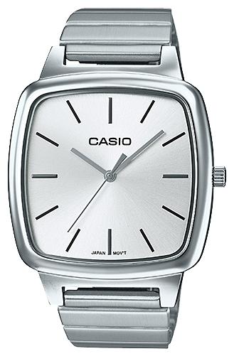 Часы наручные женскиие Casio, цвет: стальной, белый. LTP-E117D-7ALTP-E117D-7A