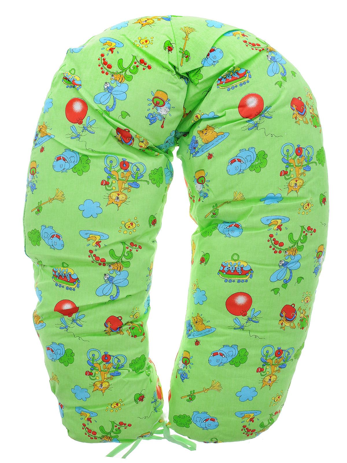 Подушка Фэст для беременных и кормящих женщин, цвет: зеленыйт0008105Подушка для беременных и кормящих мам Фэст - это удобная и практичная вещь, которая прослужит вам долгое время. Подушка имеет форму подковы. Для обеспечения комфорта во время беременности, можно положить подушку под живот или под спину во время отдыха.