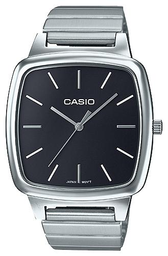 Часы наручные женскиие женскиие Casio, цвет: стальной, черный. LTP-E117D-1ALTP-E117D-1A