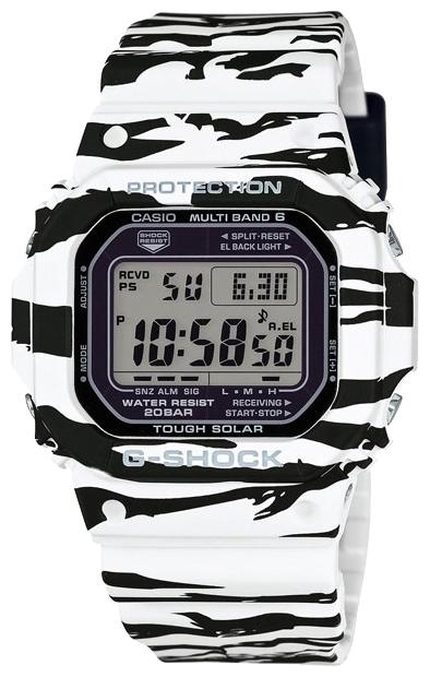 Часы наручные мужские Casio, цвет: зебра. GW-M5610BW-7EGW-M5610BW-7E