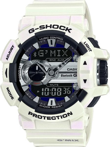 Часы наручные мужские Casio, цвет: перламутровый. GBA-400-7CGBA-400-7C
