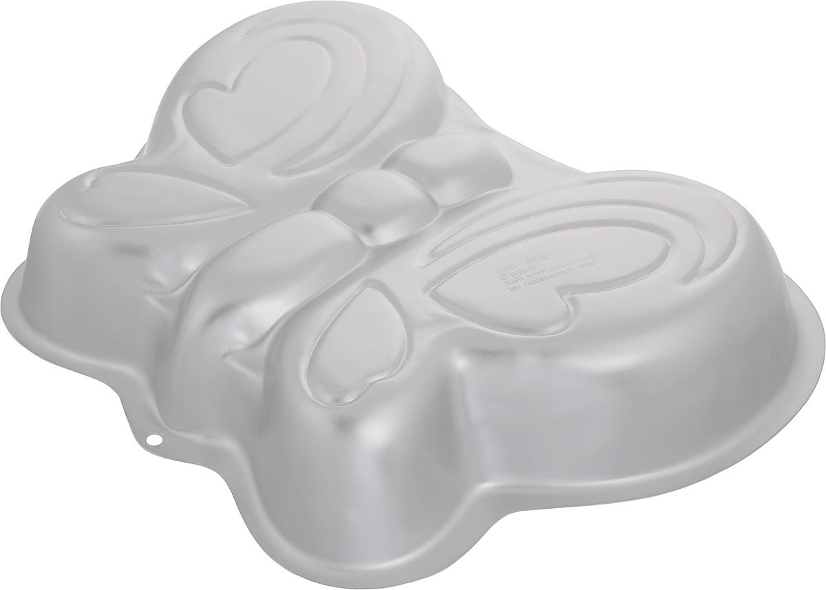 Форма для выпечки Wilton Бабочка, 33 х 25,5 х 5,2 смWLT-2105-2079Форма Wilton Бабочка, изготовленная из высококачественного алюминия, идеально подходит для выпечки кондитерских изделий. Порадуйте себя и своих близких оригинальными и вкусными угощениями. Подходит для использования в духовом шкафу.