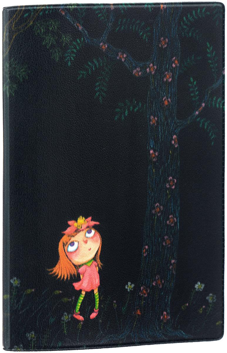 Обложка для паспорта Mitya Veselkov Девочка в розовом платье ночью, цвет: черный. OZAM346OZAM346Обложка для паспорта Mitya Veselkov Девочка в розовом платье ночью не только поможет сохранить внешний вид ваших документов и защитить их от повреждений, но и станет стильным аксессуаром, идеально подходящим вашему образу. Обложка выполнена из поливинилхлорида и оформлена оригинальным изображением девочки в платье. Внутри имеет два вертикальных кармана из прозрачного пластика. Такая обложка поможет вам подчеркнуть свою индивидуальность и неповторимость! Обложка для паспорта стильного дизайна может быть достойным и оригинальным подарком.