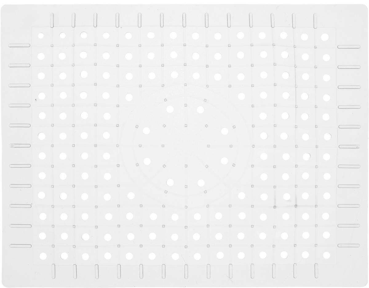 Коврик для раковины Хозяюшка Мила, цвет: прозрачный, 31,5 х 24 см36054_прозрачныйСтильный и удобный коврик для раковины Хозяюшка Мила выполнен из силикона. Он одновременно выполняет несколько функций: украшает, защищает мойку от царапин и сколов, смягчает удары при падении посуды в мойку. Коврик также можно использовать для сушки посуды, фруктов и овощей. Размер коврика: 31,5 см х 24 см.