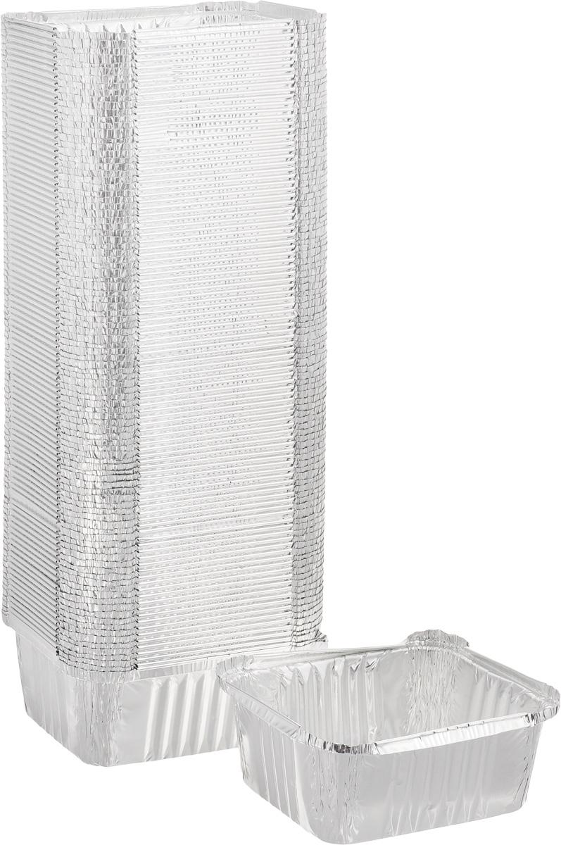 Набор форм для запекания Cuki Professional, 14,8 х 12,3 х 6 см, 100 штФЛГ20889Набор форм Cuki, выполненных из высококачественного алюминия, идеально подходит для приготовления кексов и пирогов. Изделия обладают всеми свойствами обычной фольги для запекания: гигиеничные, легкие, прочные, теплопроводные. Формы можно использовать для запекания и для хранения продуктов. Можно использовать в микроволновке и духовом шкафу. Комплектация: 100 шт.