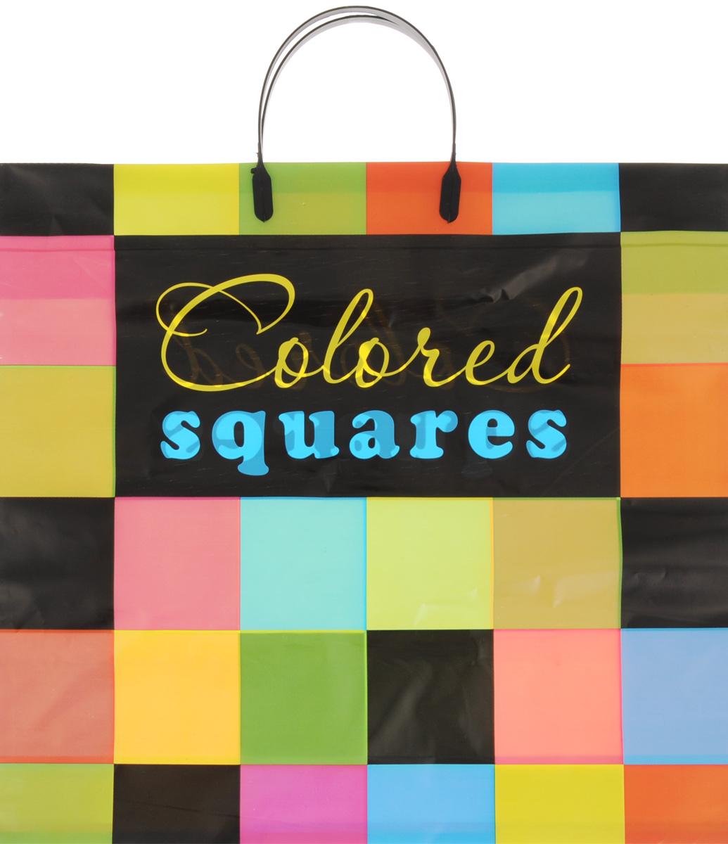 Набор пакетов Артпласт Разноцветные квадраты, с пластиковыми ручками, 10 штПЛР27085Набор Артпласт Разноцветные квадраты состоит из 10 пакетов, выполненных из высококачественного полиэтилена. Изделия оформлены яркими изображениями и оснащены эргономичными пластиковыми ручками. Такие пакеты идеально подойдут для переноски и хранения любых предметов быта. Размер пакета: 34,5 х 38,5 см. Высота ручек: 10,5 см.
