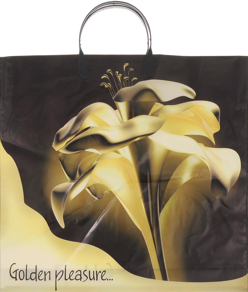 Набор пакетов Артпласт Золотой цветок, с пластиковыми ручками, 10 штПЛР21648Набор Артпласт Золотой цветок состоит из 10 пакетов, выполненных из высококачественного полиэтилена. Изделия оформлены изящным цветочным изображением и оснащены эргономичными пластиковыми ручками. Такие пакеты идеально подойдут для переноски и хранения любых предметов быта. Размер пакета: 37 х 33 см. Высота ручек: 11,5 см.