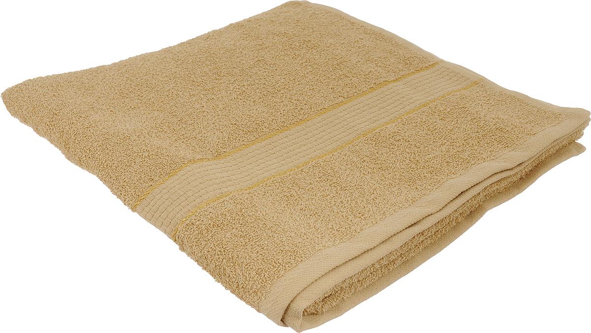 Полотенце махровое Aisha Home Textile, цвет: светло-коричневый, 70 х 140 см. УзТ-ПМ-114-08-20УзТ-ПМ-114-08-20Полотенце Aisha Home Textile выполнено из натуральной махровой ткани (100% хлопок). Изделие отлично впитывает влагу, быстро сохнет, сохраняет яркость цвета и не теряет форму даже после многократных стирок. Полотенце очень практично и неприхотливо в уходе. Оно станет достойным выбором для вас и приятным подарком для ваших близких.