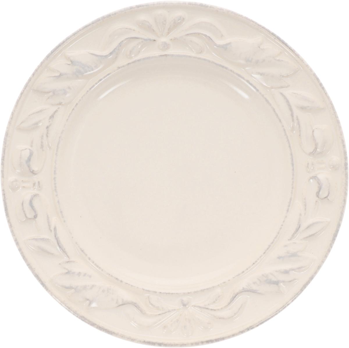 Тарелка Certified International Флоренция, диаметр 14 см14929Тарелка Certified International Флоренция выполнена из высококачественной керамики с рельефным рисунком. Изделие сочетает в себе изысканный дизайн с максимальной функциональностью. Она прекрасно впишется в интерьер вашей кухни и станет достойным дополнением к кухонному инвентарю. Тарелка Certified International Флоренция подчеркнет прекрасный вкус хозяйки и станет отличным подарком. Диаметр тарелки: 14 см.