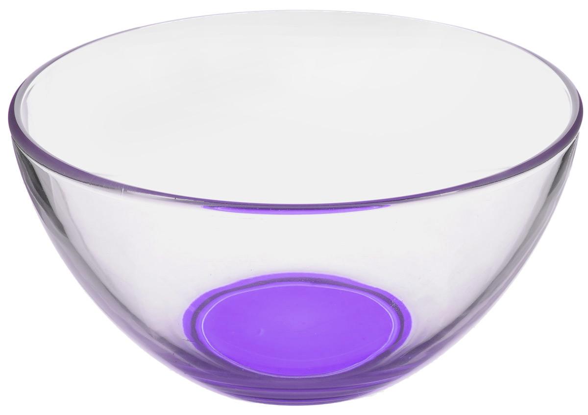 Салатник OSZ Лак микс, цвет: прозрачный, фиолетовый, диаметр 16 см09С1425 ЛМ_фиолетовыйСалатник OSZ Лак микс, изготовленный из стекла, имеет круглую форму. Он идеально подходит для сервировки стола. Такой салатник не только украсит ваш кухонный стол и подчеркнет прекрасный вкус хозяйки, но и станет отличным подарком. Диаметр салатника (по верхнему краю): 16 см. Высота салатника: 8 см. Объем салатника: 600 мл.