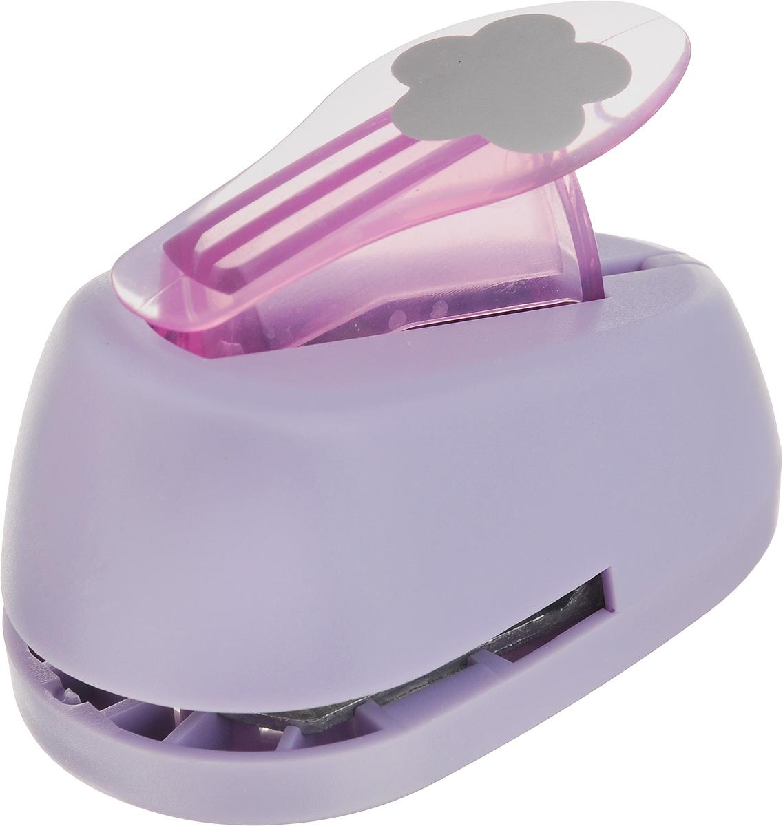 Дырокол фигурный Hobbyboom 5 лепестков, №93, цвет: фиолетовый, 2,5 смCD-99M-093_)фиолетовыйДырокол фигурный Hobbyboom 5 лепестков, выполненный из прочного пластика и металла, используется в скрапбукинге для украшения открыток, карточек, коробочек и многого другого. Применяется для прорезания фигурных отверстий в бумаге в форме цветка. Вырезанный элемент также можно использовать для украшения. Предназначен для бумаги плотностью от 80 до 200 г/м2. Размер дырокола: 8 х 5 х 5,5 см. Размер готовой фигурки: 2,5 х 2,5 см.