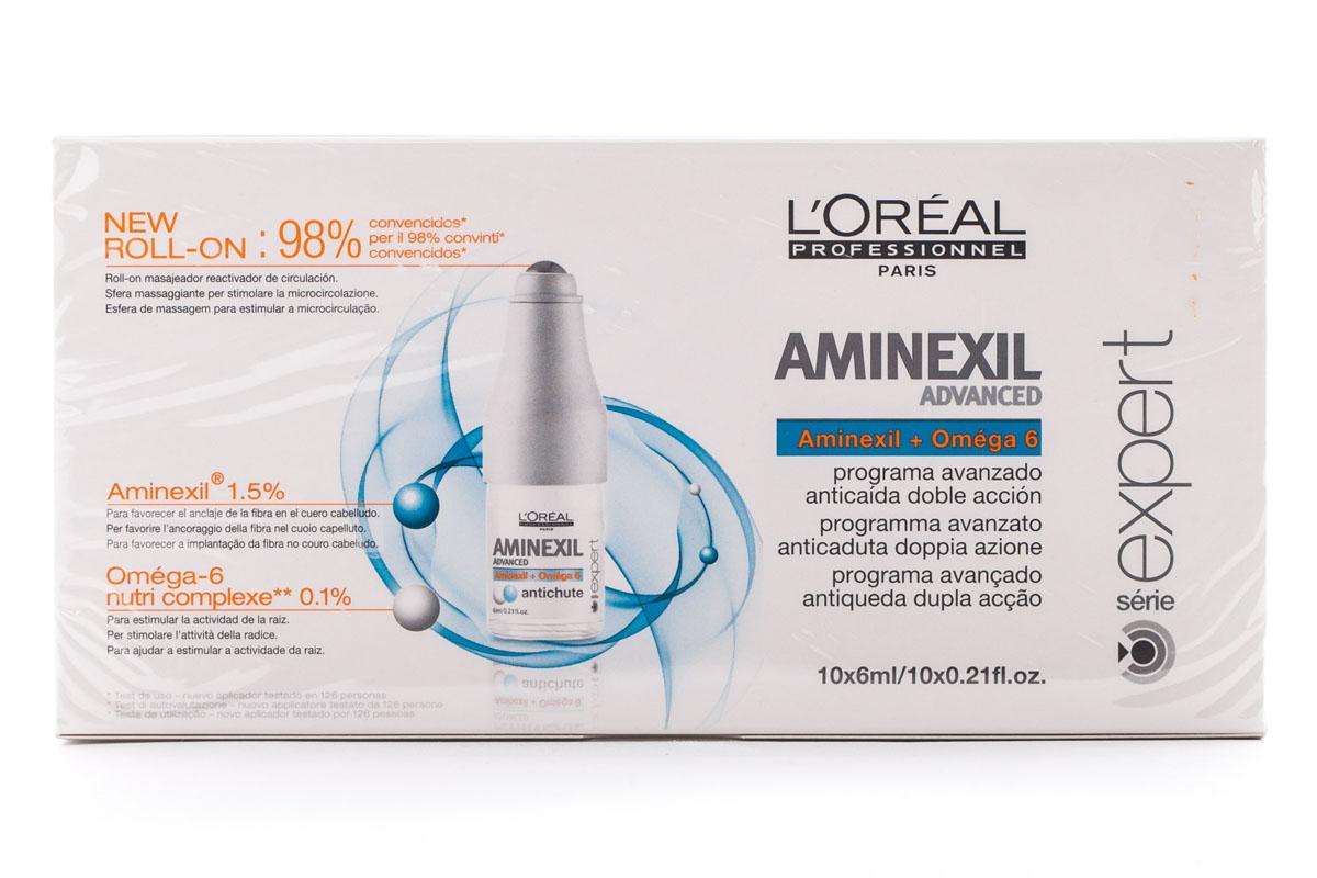 LOreal Professionnel Ампулы против выпадения волос Expert Aminexil Advanced - 10*6 млE0467668Ампулы против выпадения волос Аминексил Эдванст – это эффективное средство, питающее и увлажняющее волосы. Благодаря Aminexil Advanced вы забудете о проблеме выпадения волос. Волосы будут более сильными, мягкими и блестящими, легче расчесываться и укладываться. Аминексил Эдванст имеет нежный фруктовый аромат, быстро высыхает и абсолютно незаметен на волосах.