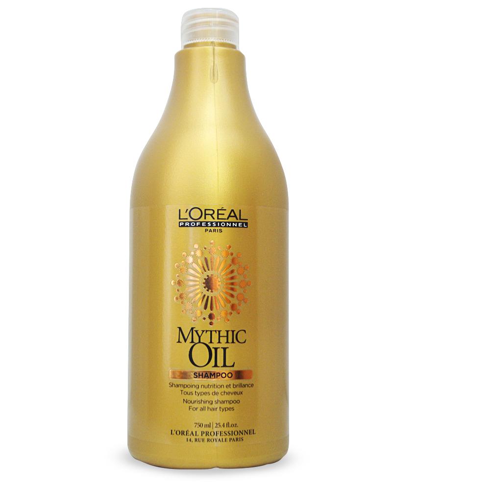 LOreal Professionnel Mythic Oil Питательный шампунь 750 млE0471641Новинка от Лореаль - Mythic Oil Shampoo. Этот питательный шампунь для блеска волос предназначен для ухода и очищения волос и кожи головы, придает неповторимый блеск и гладкость вашим волосам. Глубокое питание волос, их мягкость и ощущение свежести обеспечивается благодаря натуральным маслам, входящим в состав шампуня: Масло арганы - для увлажнения, питания и восстанавления структуры волос. Хлопковое масло (холодного отжима) - для сохранения необходимого гидробаланса, для увеличения защитных свойств волос и кожи головы. Шикарный блеск и гладкость волос обеспечивается благодаря маслу виноградных косточек.