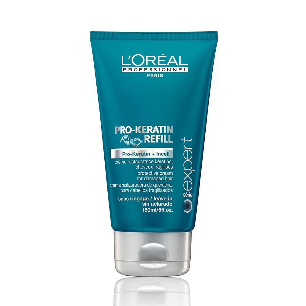 LOreal Professionnel Несмываемый защитный крем для поврежденных волос Expert Pro-Keratin Refill Protective Cream - 150 мл