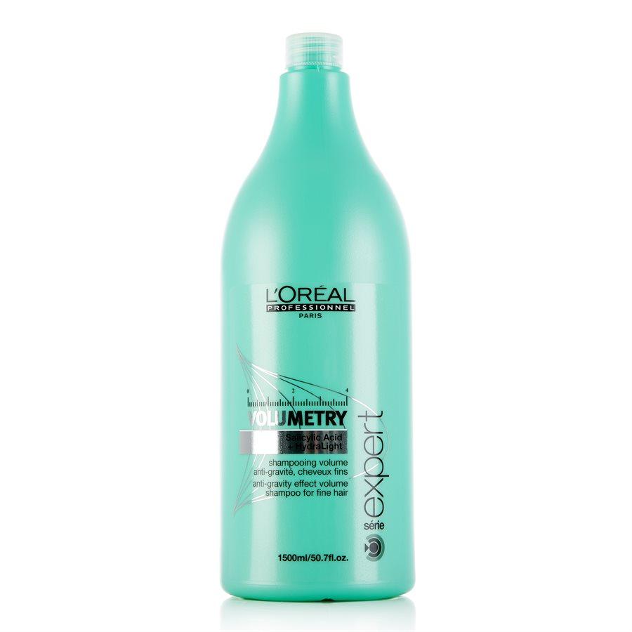 LOreal Professionnel Expert Volumetry - Шампунь для придания объёма 1500 млE0527317Профессиональный шампунь, придающий объем ослабленным и истонченным волосам - LOreal Professionnel Volumetry Shampoo – это бережное очищение с помощью салициловой кислоты, позволяющей удалять излишки жира и тем самым приподнимать корни волос, создавая необходимый объем. Уникальная технология Intra-Cylane работает со структурой волос изнутри, делая их здоровыми и блестящими. Результат: Великолепный объем, сияние и мягкость здоровых волос на продолжительное время.