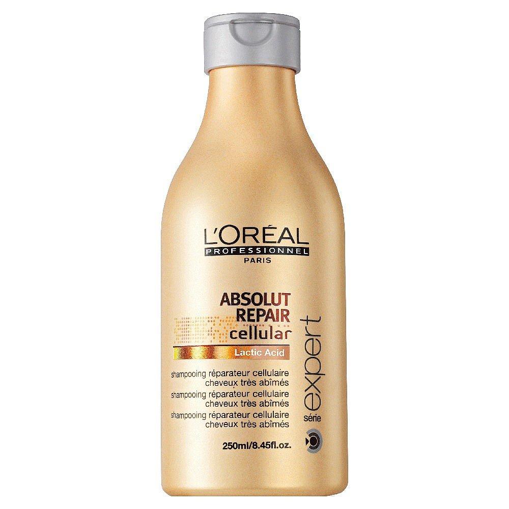LOreal Professionnel Шампунь, восстанавливающий структуру волос на клеточном уровне Expert Absolut Repair Lipidium - 250 млE0640504Благодаря системе Neofibrine (комбинации керамида Bio-Mimetic, укрепляющего волосы, УФ-фильтра и усиливающего блеск волос компонента) шампунь Абсолют Репэр Липидиум восстанавливает поврежденные волосы на клеточном уровне, возвращая им силу и прочность. Волосы становятся крепкими, защищенными, они наполняются жизненной силой и сиянием.