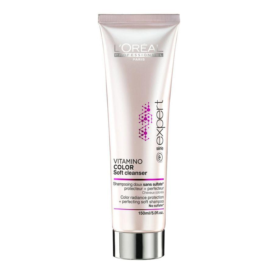 L'Oreal Professionnel INOA - Шампунь без сульфатов для защиты цвета окрашенных волос Expert Vitamino Color Soft Cleanser Shampoo 150