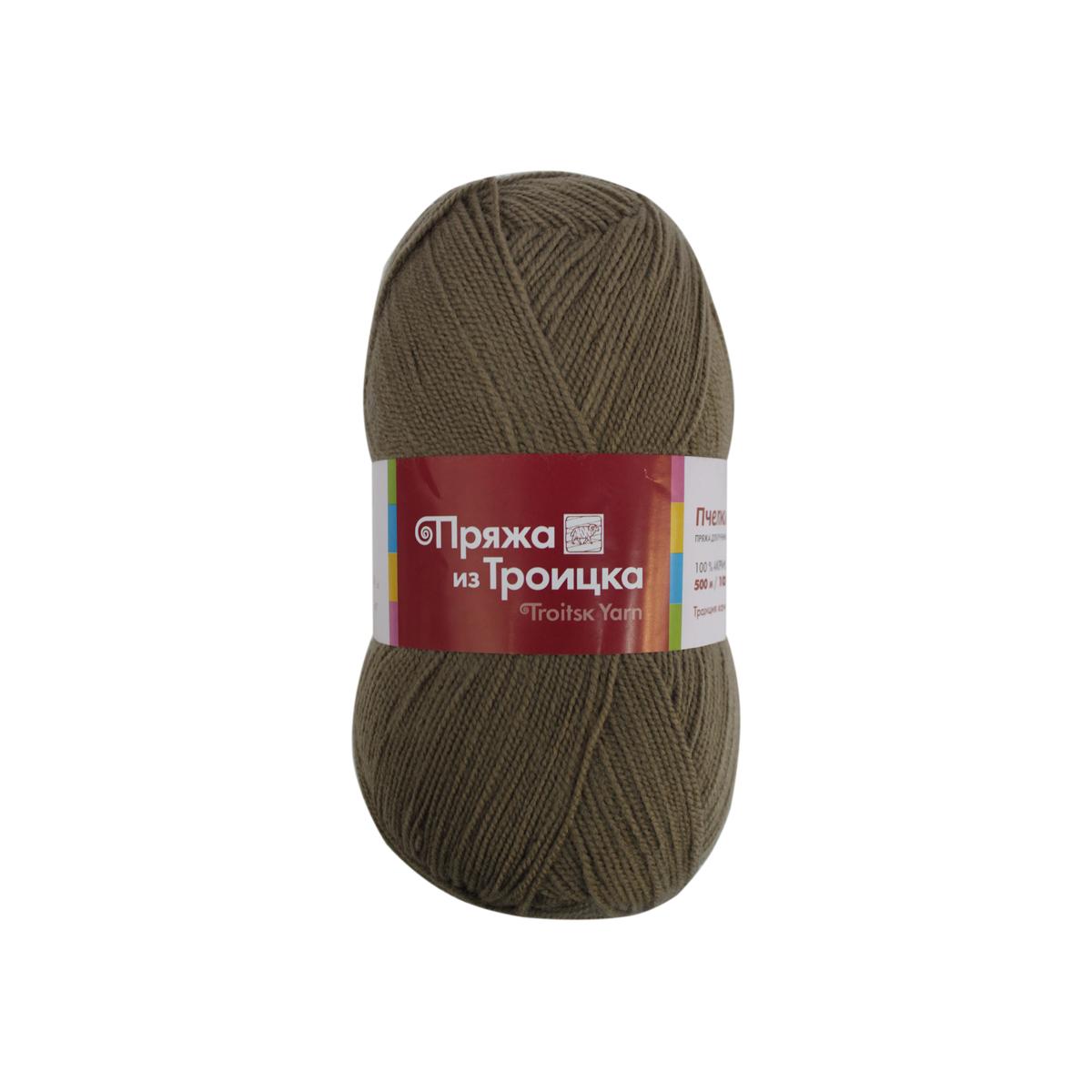 Пряжа для вязания Пчелка, 100 г, 500 м, цвет: 1637 верба, 10 шт366098_1637