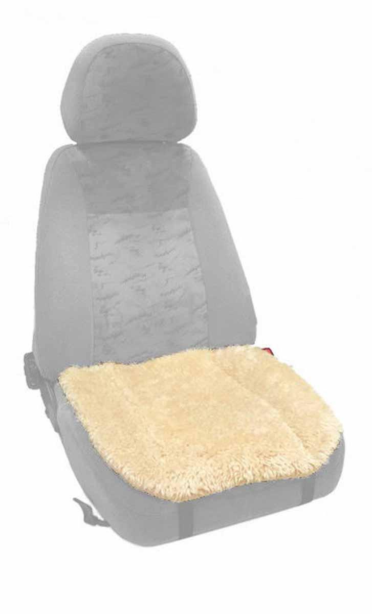 Накидка Auto premium на горизонтальную часть сидения, цвет: бежевый. 47003 (СМ03)47003 (СМ03)Накидка на нижнюю часть сиденья выполнена из искуственного меха. Особенно полезна будет в зимний период времени. Меховая накидка избавит Вас от неприятных очущений при посадке в замерзший автомобиль. Накидка имеет 4 точки крепления на сиденье, поэтому держится крепко и никуда не съедет.