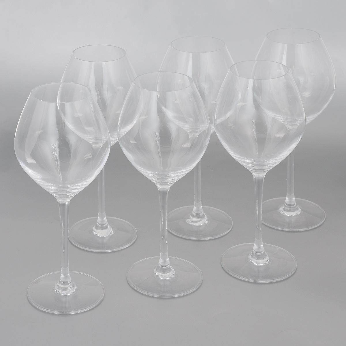 Набор фужеров Cristal dArques Wine Emotions, 470 мл, 6 штH9351Набор Cristal dArques Wine Emotions состоит из 6 фужеров на длинных ножках,из специально разработанного стекла Diamax. Такой набор прекрасно дополнит праздничный стол и станет желанным подарком в любом доме. Диаметр фужера (по верхнему краю): 6 см. Высота фужера: 22 см. Диаметр основания фужера: 8 см.