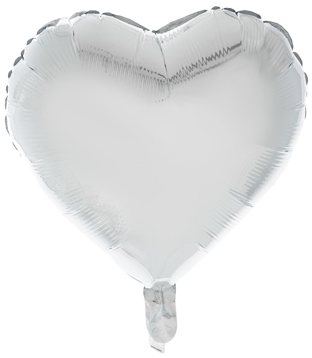 Action! Шар фольгированный Сердце цвет серебряныйL00671_новый дизайнБольшой фольгированный шар станет замечательным украшением праздника и веселой игрушкой для малыша. Шар в форме сердца может стать прекрасным дополнением к любому подарку, или украшением праздника! С помощью этого аксессуара любая вечеринка останется незабываемой! Изделие поставляется не надутым.