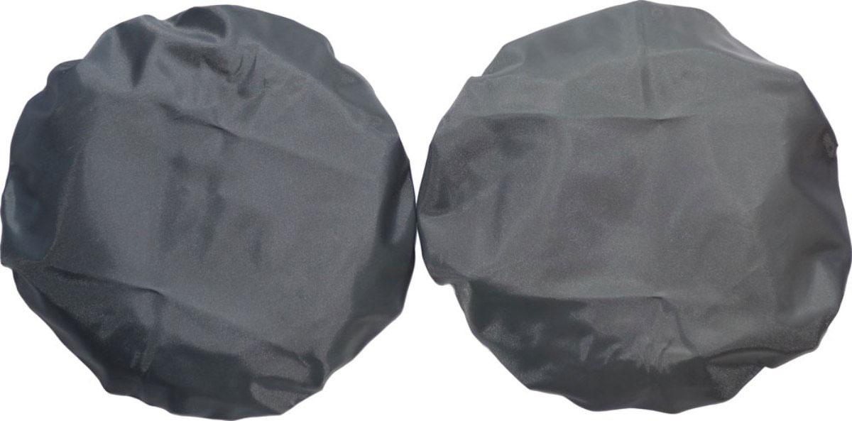 Чудо-Чадо Чехлы на колеса для коляски диаметр 18-28 см цвет мокрый асфальт 2 шт